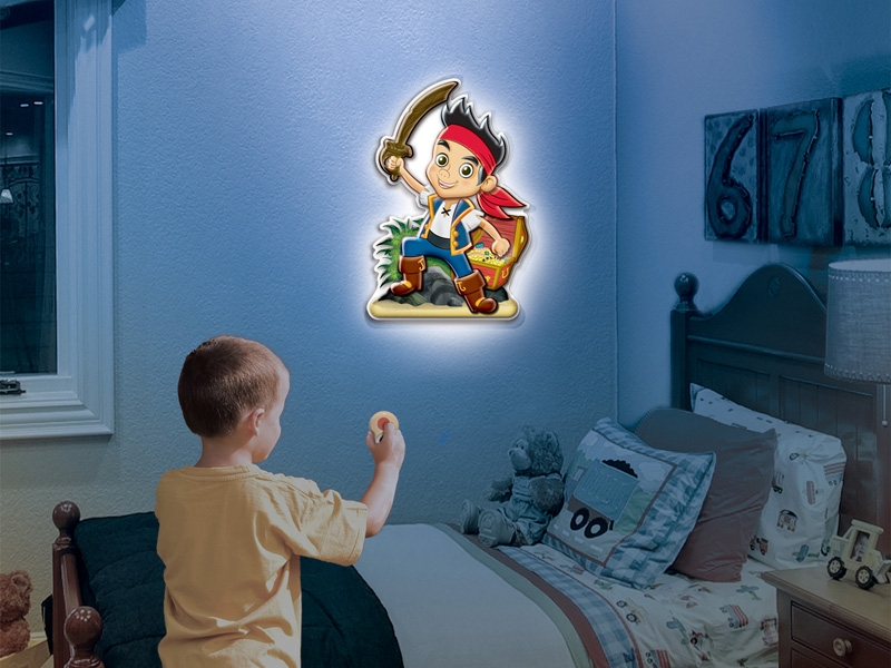 Merveilleux Jake The Pirate Comes To Life In Your Room!