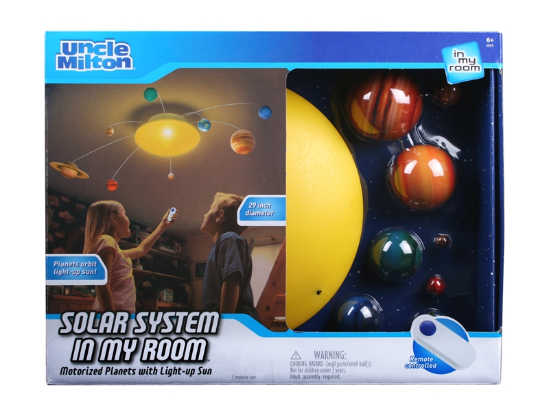 Uncle Milton S Toys In My Room Solar System In My Room