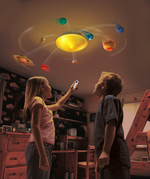 Uncle Miltons Toys In My Room Solar System In My Room - Hanging solar system for kids room